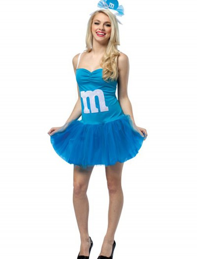 Teen Blue M&M Party Dress