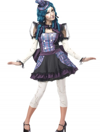Teen Broken Doll Costume