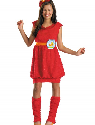 Teen Girls Elmo Costume