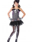 Teen Girls Skeleton Costume