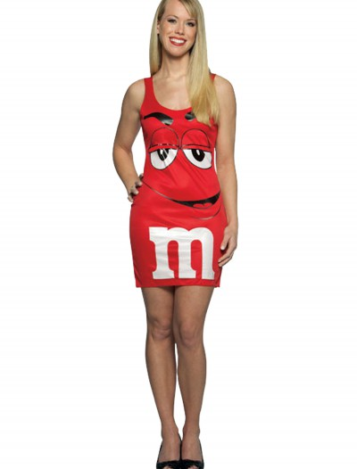 Teen M&M Red Tank Dress