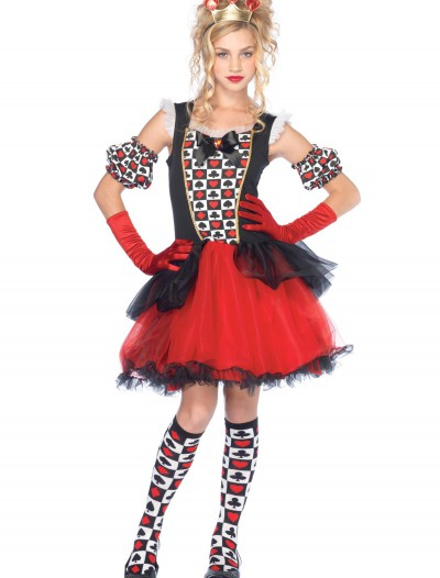 Teen Playing Card Queen Costume