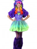 Teen Purple Posh Monster Costume