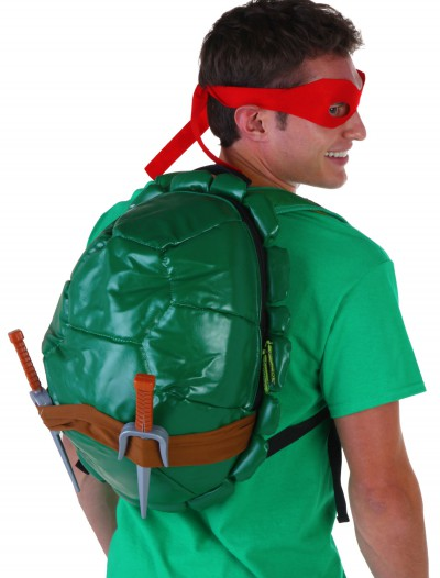 Teenage Mutant Ninja Turtles Shell Backpack With Weapons