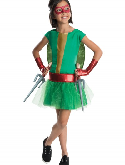 TMNT Movie Child Raphael Tutu Dress Costume