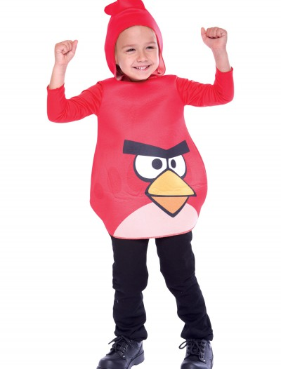 Toddler Angry Birds Red Bird Costume