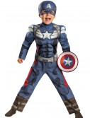 Toddler Captain America 2 Muscle Costume