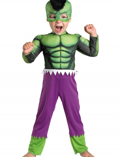 Toddler Hulk Muscle Costume
