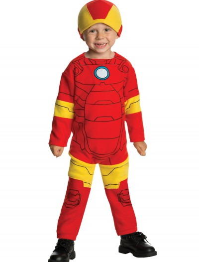 Toddler Iron Man Fleece Jumpsuit