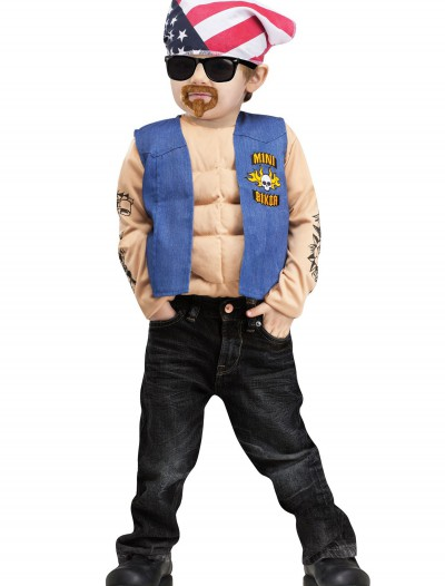 Toddler Mini Biker Costume