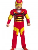 Toddler Muscle Chest Iron Man Costume