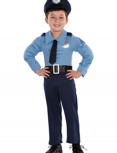 Toddler Muscle Chest Police Costume