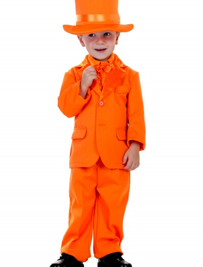 Toddler Orange Tuxedo