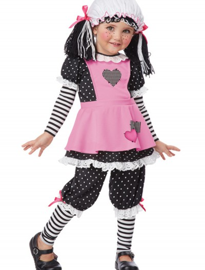 Toddler Rag Dolly Costume