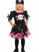 Toddler Sally Skully Pirate Costume