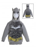 Toddler Silver Batman Costume Hoodie