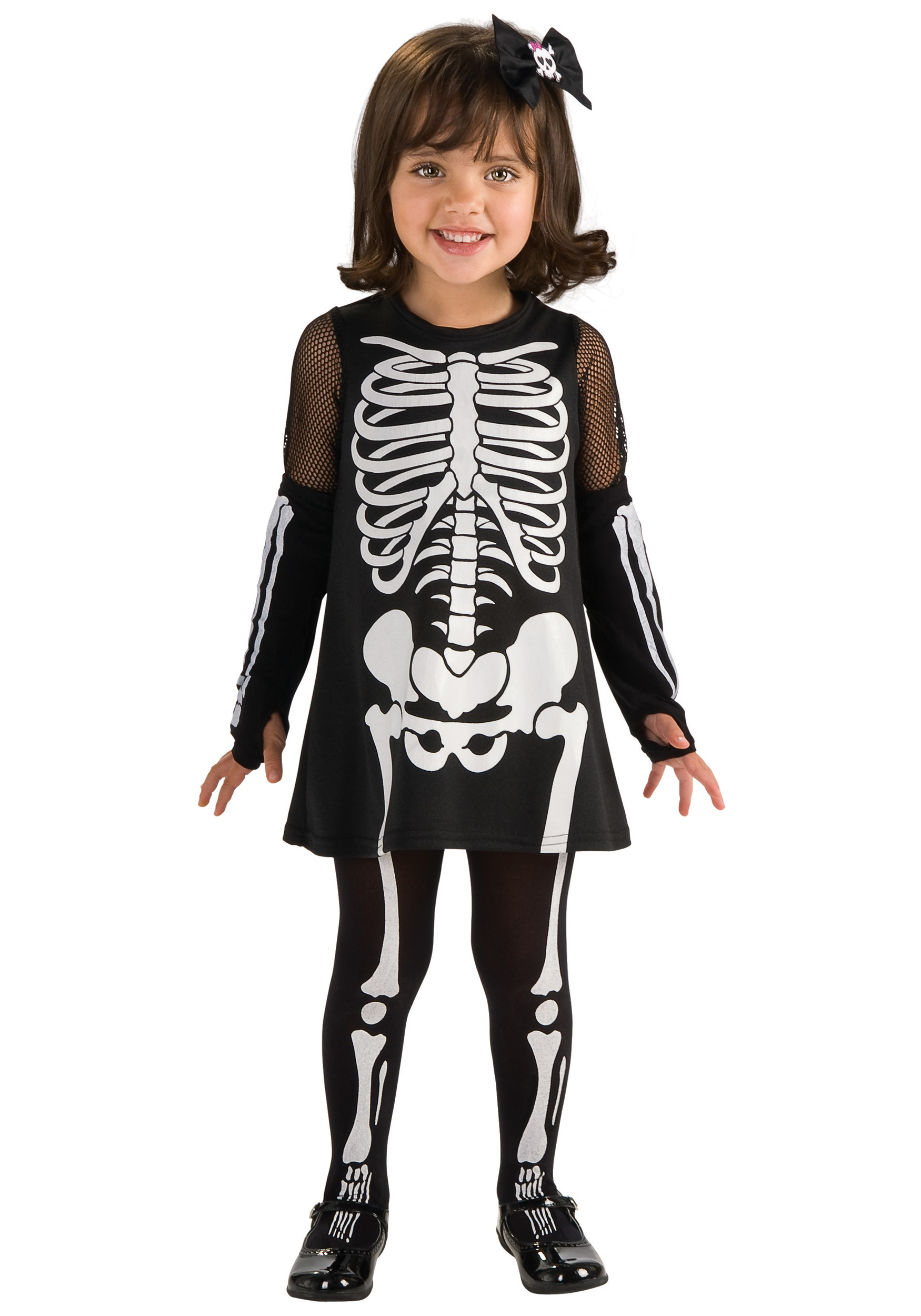 Toddler Skeleton Dress