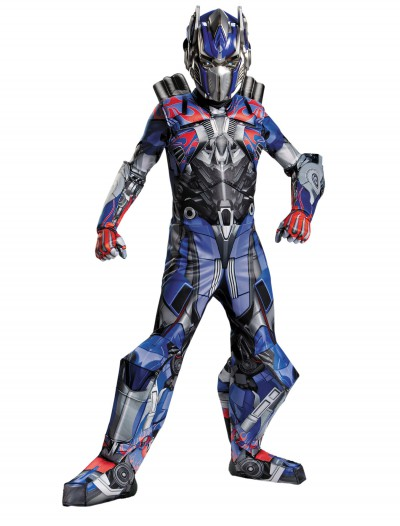 Transformers 4 Boys Optimus Prime Prestige Costume