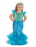 Turquoise/Lime Mermaid Costume
