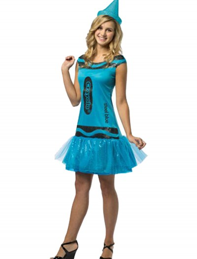 Tween Crayola Steel Blue Glitz Dress