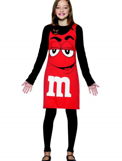 Tween M&M Red Tank Dress
