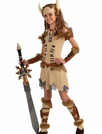 Tween Viking Princess Costume