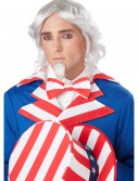 Uncle Sam Wig and Chin Patch