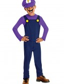 Waluigi Kids Costume