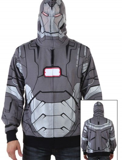 War Machine I Am Marvel Iron Man 3 Costume Hoodie