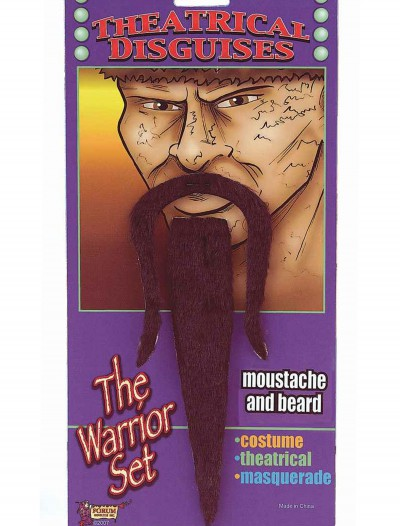 Warrior Moustache and Beard