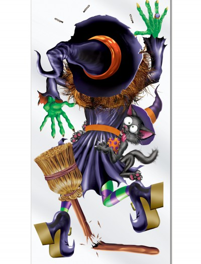 Witch Crashing Door Cover
