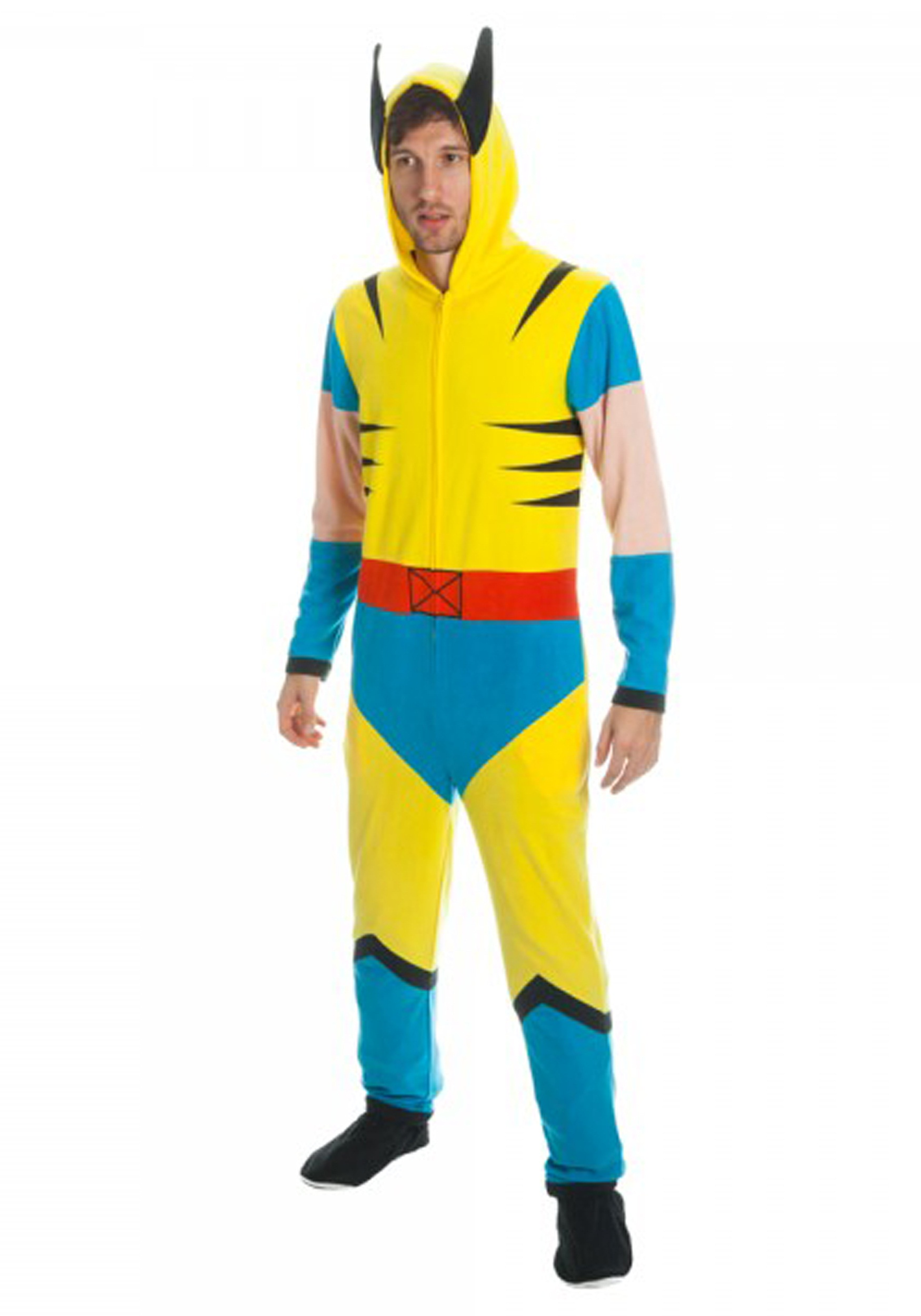 Wolverine Mens Yellow Union Suit