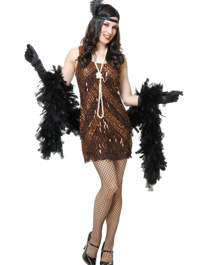 Women's Brown Sugar Flapper Costume