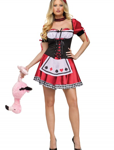 Womens Card Queen of Hearts Costume