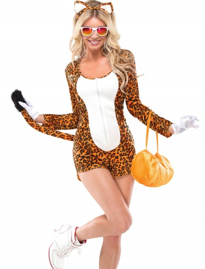 Womens Cheeky Cheetah Costume