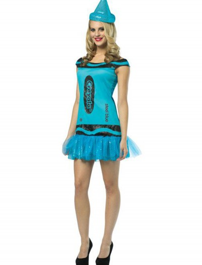 Women's Crayola Glitz Blue Dress