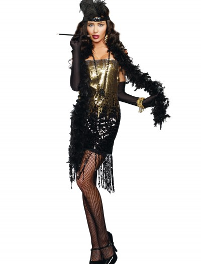 Women's Dazzle Me Flapper Costume