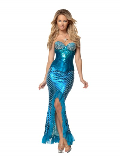 Womens Deluxe Blue Mermaid