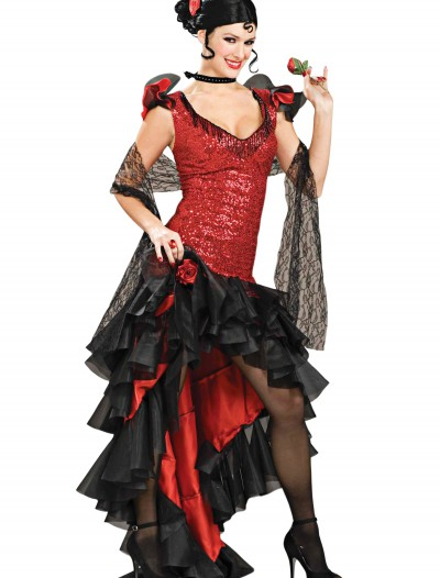 Women's Deluxe Spanish Dancer Costume