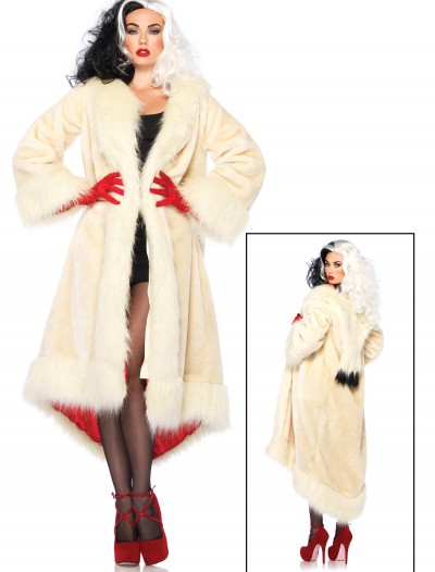 Women's Disney Cruella Coat Costume