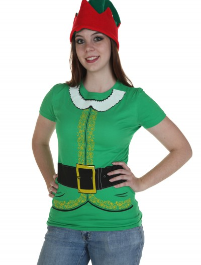 Womens Festive Elf T-Shirt
