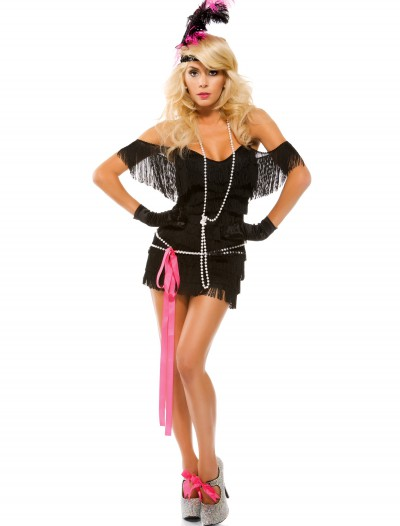 Womens Foxy Fringe Flapper Costume