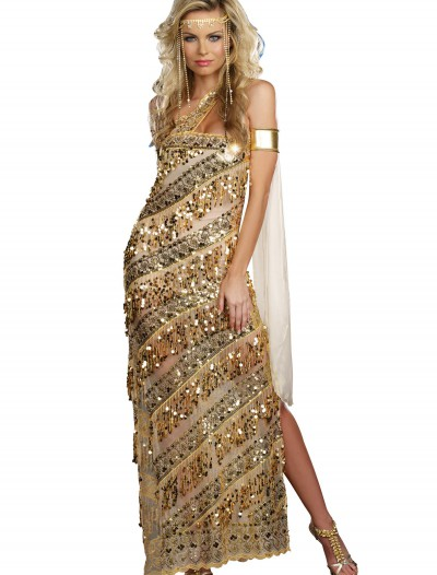 Women's Golden Goddess Costume