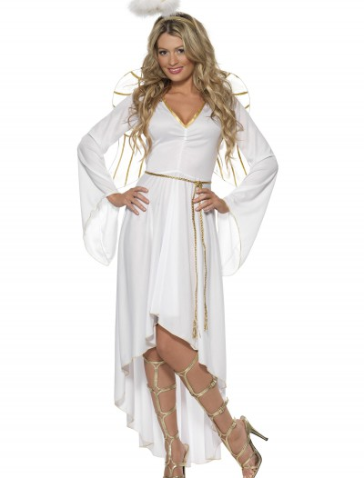 Womens High-Low Angel Costume