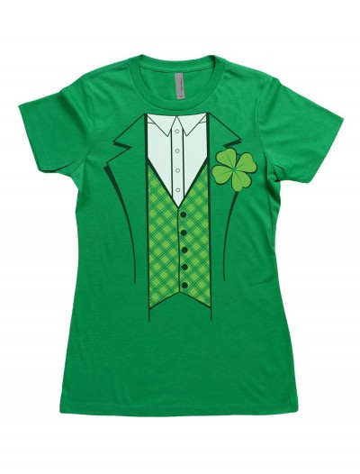 Womens Leprechaun Costume T-Shirt