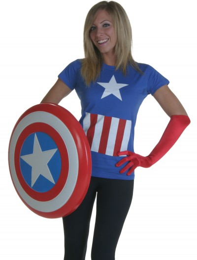 Womens Marvel Captain America T-Shirt
