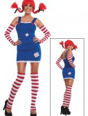 Womens Pippi Longstocking Costume