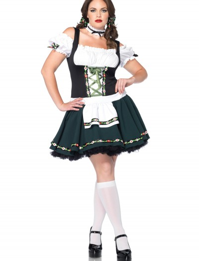 Women's Plus Size Bavarian Beauty Costume