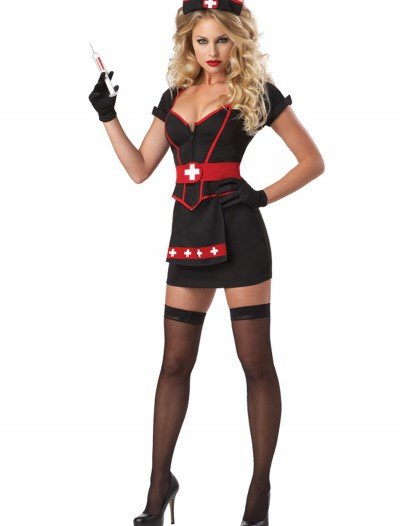 Womens Plus Size Cardiac Arrest Nurse Costume