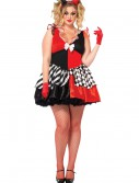 Women's Plus Size Court Jester Costume